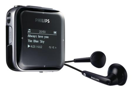 Nuevos reproductores portátiles de audio de Philips [CES 2008]