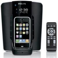 Philips DC350, base para el iPhone de gran diseño y bluetooth