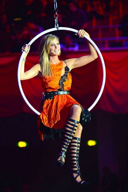 MTV EMA 2012 Heidi Klum