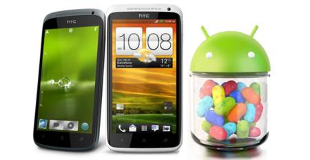 HTC anuncia las actualizaciones a Android 4.1 Jelly Bean para sus One X, One S y One XL