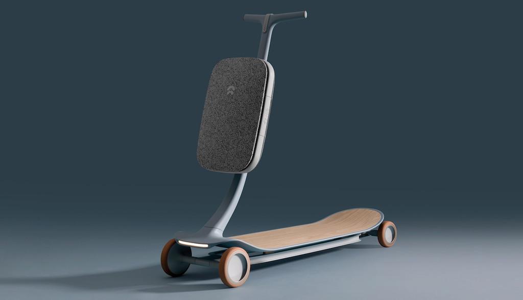 Así es 'PAL', el precioso prototipo de patinete eléctrico con inteligencia artificial de NIO, el llamado