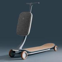 """Así es 'PAL', el precioso prototipo de patinete eléctrico con inteligencia artificial de NIO, el llamado """"Tesla chino"""""""