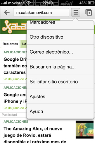 Foto de Google Chrome en iOS (11/15)