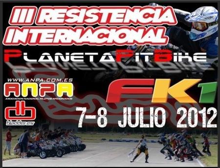 III Edición carrera de resistencia internacional de Minimotard, Planeta Pit-bike
