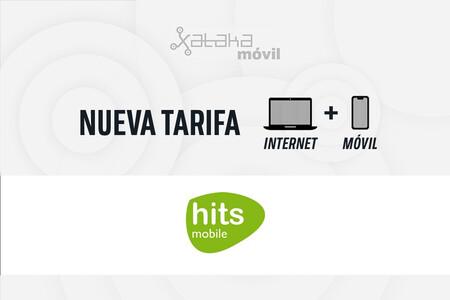 Hits Mobile ofrece fibra óptica con cuatro planes combinados desde 32 euros al mes