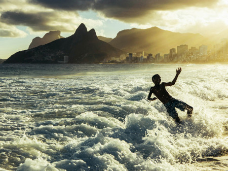 Playing Sunset Beach Rio Brazil 90543 990x742