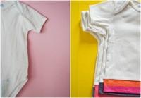 De body a camiseta.  Una segunda oportunidad para la ropa del bebé