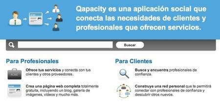 Qapacity, directorio de empresas 2.0