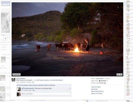 Facebook renueva (otra vez) su visor de imágenes