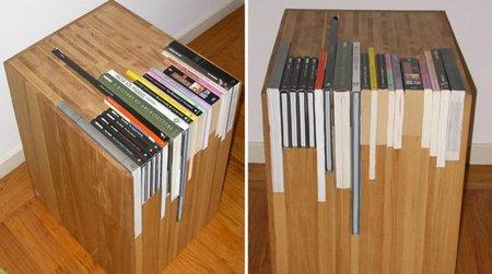 Una mesita a la medida de tus libros