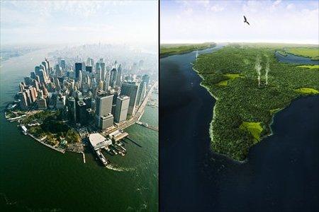 Las ciudades son más ecológicas que el campo