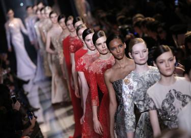 Elie Saab Alta Costura Primavera-Verano 2013: cuando la moda es arte