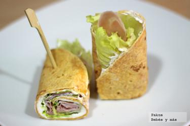 Recetas para la vuelta al cole: los sándwiches más enrollados