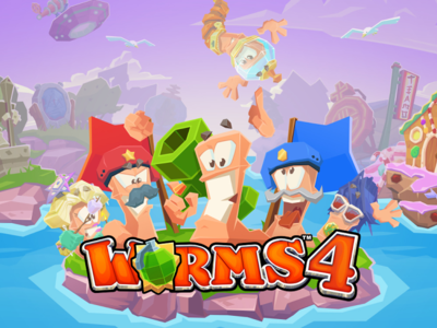 Worms 4 ya está disponible para Android