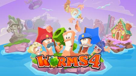 Worms 4 ya está disponible para Android