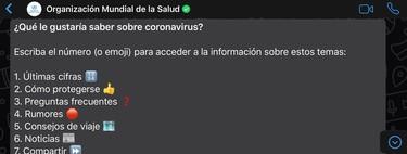 Cómo utilizar el bot oficial para el coronavirus de la OMS en WhatsApp para informarte