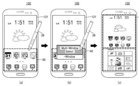 Samsung desarrolló en un patente un smartphone dual con Windows 10 y Android