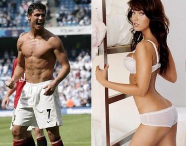 Megan Fox y Cristiano Ronaldo, la pareja soñada por Armani