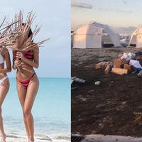 Un festival de lujo que cobraba 12.000 dólares por entrada se convierte en un yermo descontrolado