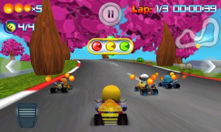 Pac Man Kart Rally