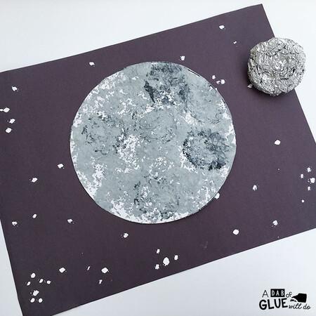 Manualidades Universo Espacio Exterior Luna Estrellas 5