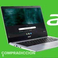 Trabajar en la nube este curso sale más barato con el Acer Chromebook 314 CB314-1H: Amazon te lo deja por 269,99 euros con envío gratuito