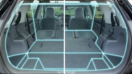 Toyota Prius+ maletero
