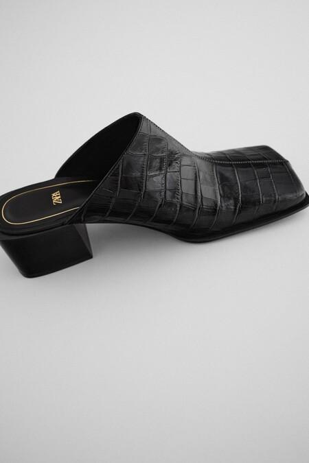 Zara Bf 2020 Zapatos Punta Cuadrada 04