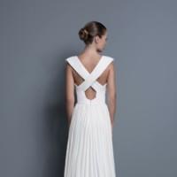 color nude vestido novia