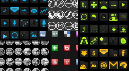 Packs de iconos Google Play