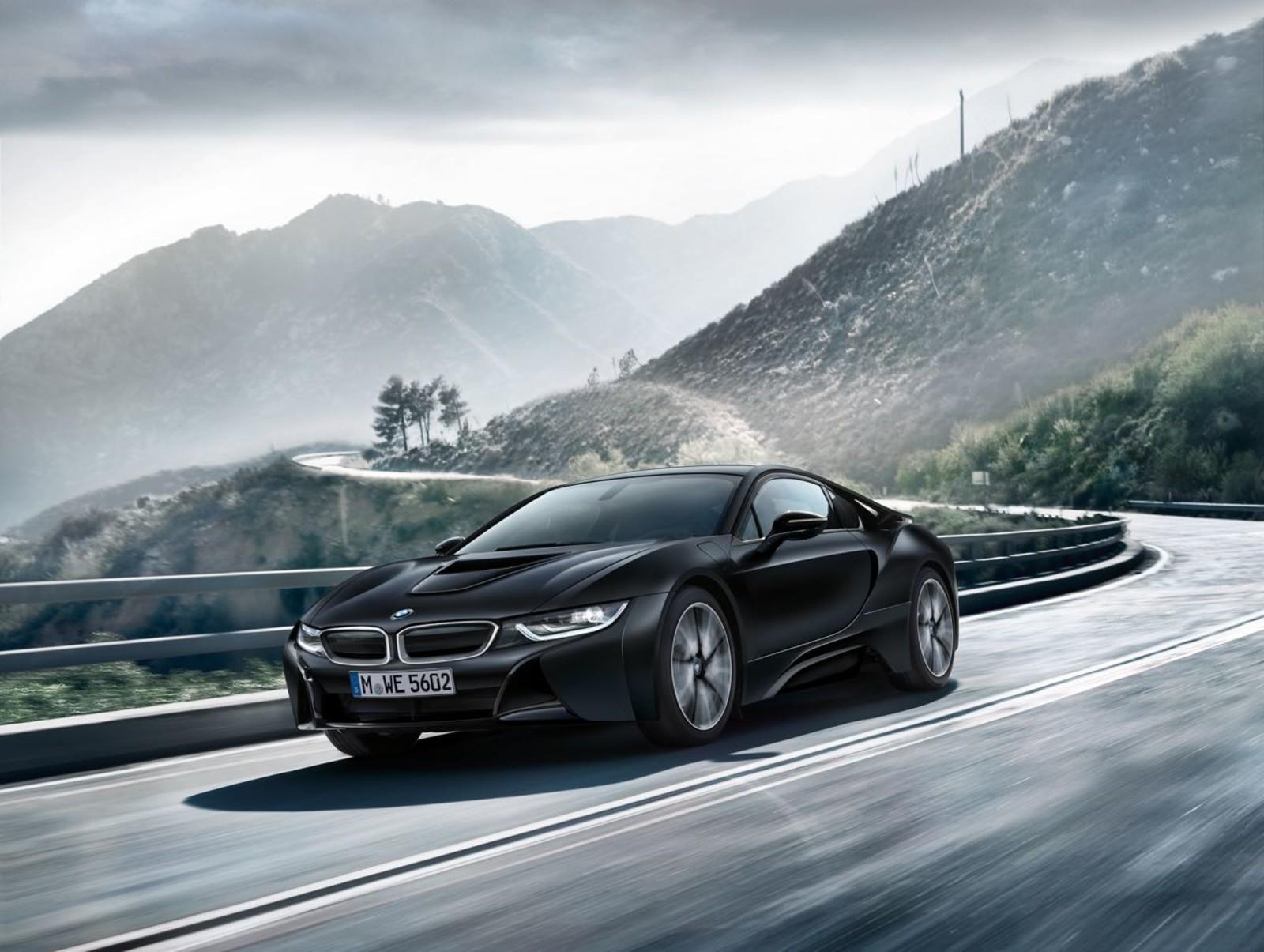 Foto de BMW i8 Protonic Frozen Black Edition (1/9)
