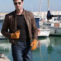Estilazo italiano y corte retro al alcance de no todos con la chaqueta Garibaldi Bullrider Vintage