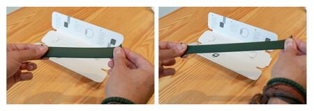 Correa Solo Loop Verde Apple Watch Prueba Elasticidad 2