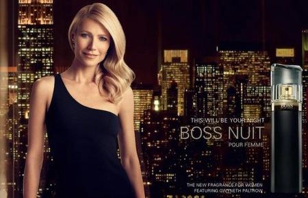 Gwyneth Paltrow tiene la ciudad rendida ante sus pies. ¿Será porque huele a Hugo Boss Nuit?