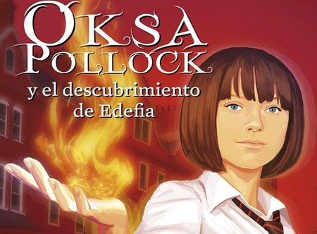 Llega Oksa Pollock, ¿la nueva Harry Potter?