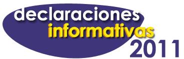 Declaraciones informativas de 2011, disponibles en la web de la AEAT