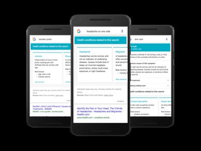 Si buscas los síntomas que tienes Google te dirá qué enfermedades podrías tener