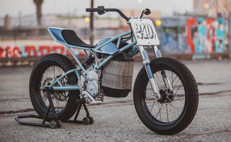 Esta moto de Dirt Track eléctrica nació porque a su creador le molestaba el ruido del motor