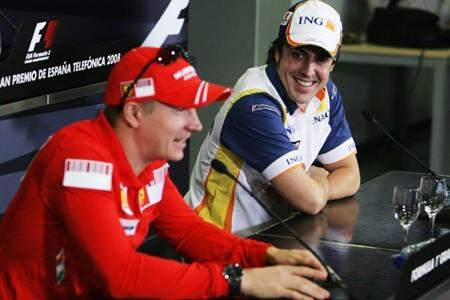 Ferrari duda entre Fernando Alonso y Kimi Raikkonen