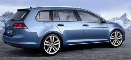 Volkswagen Golf Variant, primeras imágenes antes de Ginebra