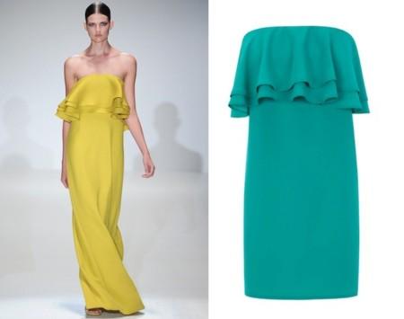 Clonados y pillados: es tiempo de vestidos