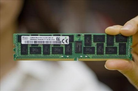 SK Hynix recalca su fortaleza en el mercado DRAM con módulo DDR4 de 128 GB