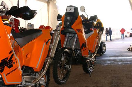 KTM sigue presente en el Dakar y promete dar guerra