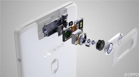 Más detalles sobre la cámara del Oppo N3, a la que se suma el sensor de huella dactilar