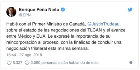 Tweet Enrique
