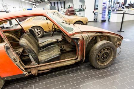 Porsche 901 Restauración