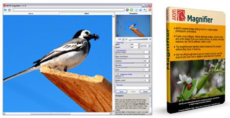 Akvis Magnifier, software para redimensionar tus imágenes