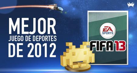 Mejor juego de deportes de 2012 según los lectores de VidaExtra: 'Fifa 13'