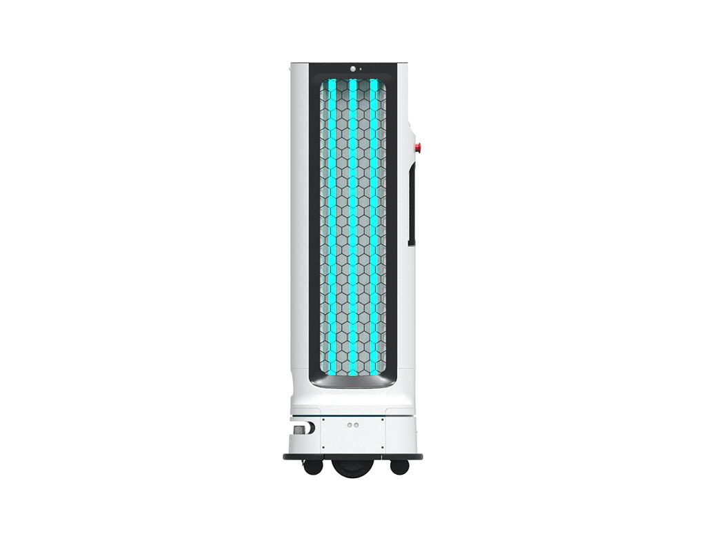 Lo último de LG es un robot autónomo con luz ultravioleta para desinfectar habitaciones del coronavirus en 15 minutos