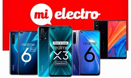 Smartphones Realme y Xiaomi en MiElectro: cambiar de móvil no te tiene que salir tan caro con esta ofertas